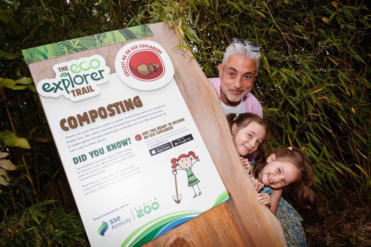 Baz Ashmawy joins us for a 'Summer of Sustainability' at Dublin Zoo