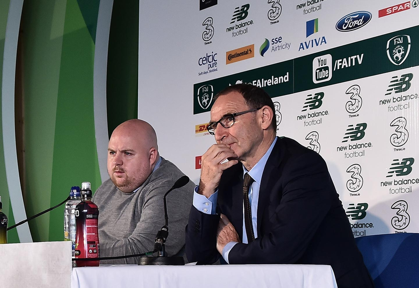O'Neill announces squad for crucial qualifiers at SSE Airtricity HQ