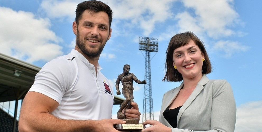 Patrick Hoban named Player of the Month